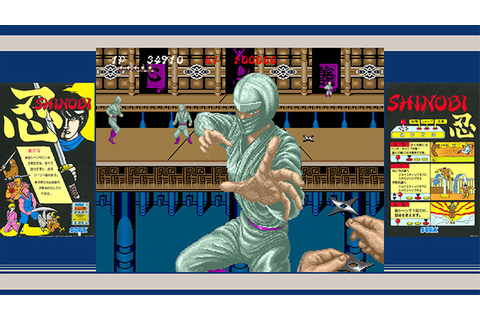 Sega Ages Cult Classic Games, Including Shinobi, Coming to ...