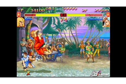 Street Fighter Anniversary Collection - Street Fighter ...