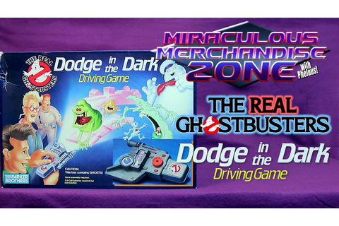MMZ: The Real Ghostbusters Dodge in the Dark Driving Game ...
