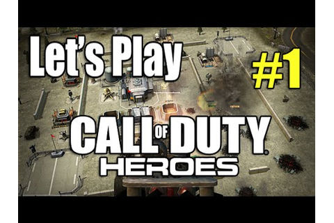 Call Of Duty Heroes Part #1 - Game Overview (Strategy ...