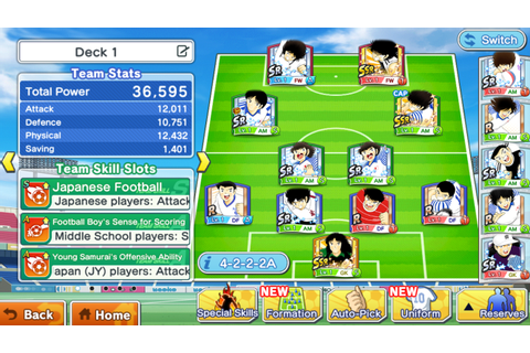Captain Tsubasa: Dream Team - Android Apps on Google Play