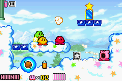 Game: Kirby & The Amazing Mirror [Game Boy Advance, 2004 ...