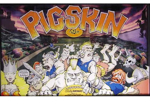 Pigskin 621 A.D. - Videogame by Bally Midway
