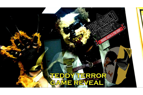 Teddy Terror Game Reveal - YouTube