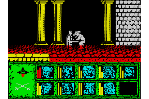 Dragons of Flame (1990) ZX Spectrum game
