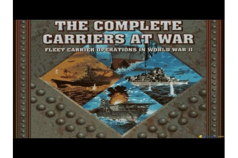 Carriers at War II - 1993 PC Game, gameplay - YouTube