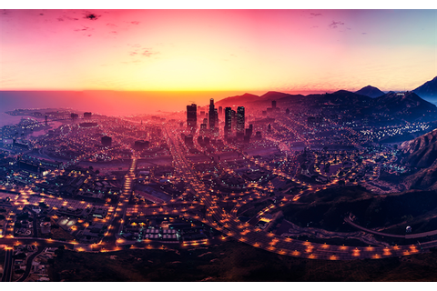 Download wallpapers Grand Theft Auto V, GTA 5, Los Santos ...