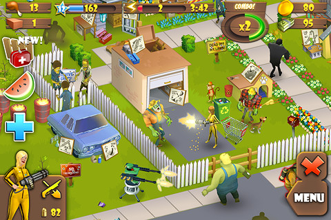 Zombie Lane « Free Online Game