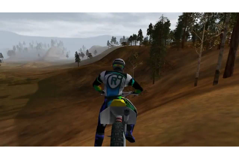 Motocross Madness 2 demo - stunts/glitch/wipeouts - YouTube