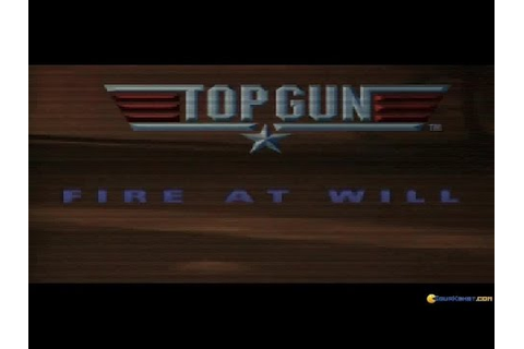 Top Gun Fire at Will gameplay (PC Game, 1996) - YouTube