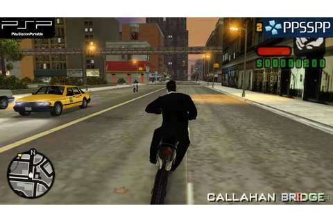 Grand Theft Auto: Liberty City Stories - PSP Gameplay ...