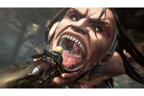 Attack on Titan 2 Game Announced, Coming Early 2018