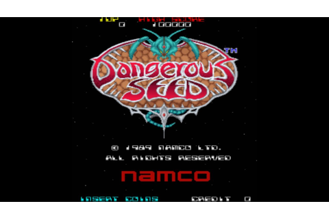 Dangerous Seed 1989 Namco Mame Retro Arcade Games - YouTube