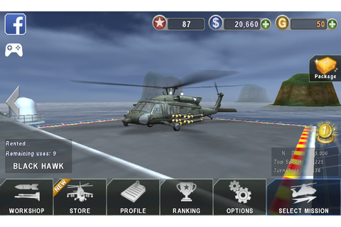 "Download Free Games "" Gunship Battle with Unlimited Dollar ..."