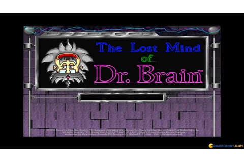 The Lost Mind of Dr. Brain - 1995 PC Game, introduction ...