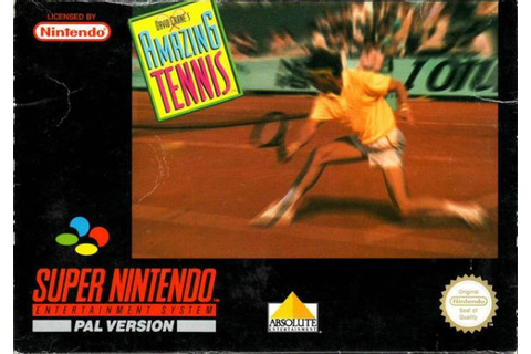 David Crane's Amazing Tennis (SNES Review) - Arcade Attack