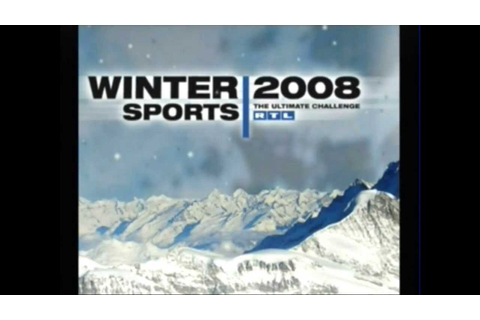 Winter Sports: The Ultimate Challenge Wii 2007 - Game ...