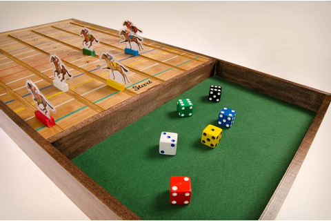 wooden horse race game | hazardpublishing