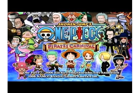 Let's Play One Piece: Pirates' Carnival (Part 1) - The ...
