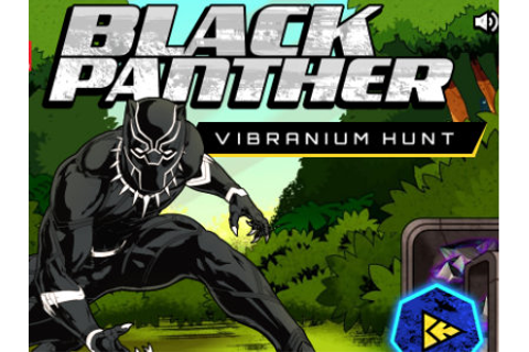 Black Panther Vibranium Hunt - online game | GameFlare.com
