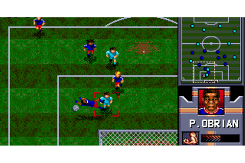 Play Retro Games Online: AWS Pro Moves Soccer SEGA