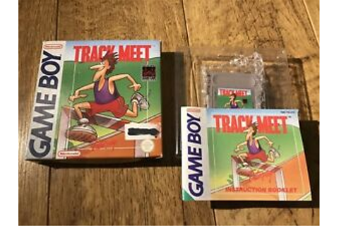 Track Meet Gameboy Game! Complete! Look In The Shop! | eBay