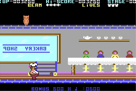 Download Comic Bakery (Commodore 64) - My Abandonware