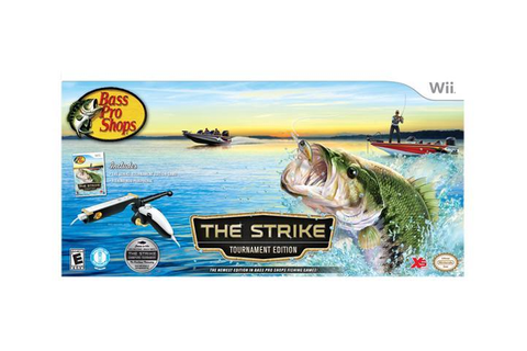 Bass Pro Shops: The Strike Tournament Edition Bundle Wii ...