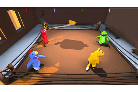Gang Beasts: Giant Bomb Unfinished 09/03/2014 - YouTube