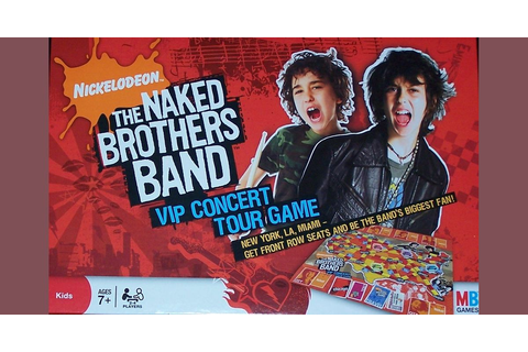 The Naked Brothers Band VIP Concert Tour Game | Board Game ...