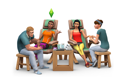 EA Games annonce Les Sims 4 Détente au spa | So What