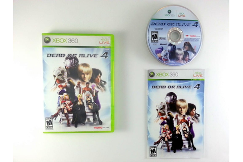 Dead or Alive 4 game for Xbox 360 (Complete) | The Game Guy