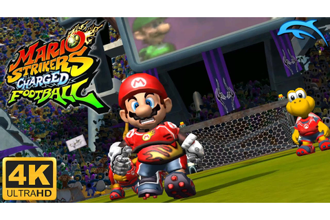 Mario Strikers Charged Football - Gameplay Wii 4K 2160p ...
