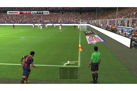 Pro Evolution Soccer 2014 - Gameplay [HD] - YouTube