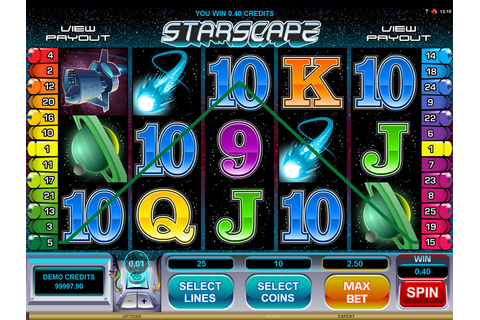 Starscape Slot - Free Play Spins | DBestCasino.com