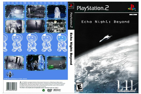 Mega Covers Gtba: Echo Night Beyond - Capa Game PS2