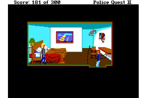 Police Quest II: The Vengeance – Sierra Classic Gaming