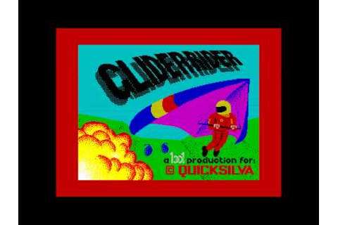"""Glider Rider"" title music, ZX Spectrum 128k - YouTube"