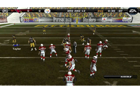 Madden NFL 08 Gameplay - YouTube