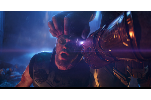 When Thanos was punishing Nebula, why did he use two ...