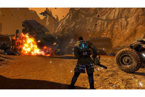 Red Faction Guerrilla Re-Mars-tered Game | PS4 - PlayStation