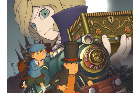 Professor Layton and the Diabolical Box is a great puzzle ...