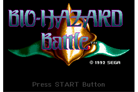 Play Bio Hazard Battle Sega Genesis online | Play retro ...