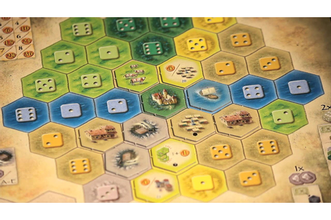 The Castles of Burgundy - Board Game Overview - YouTube