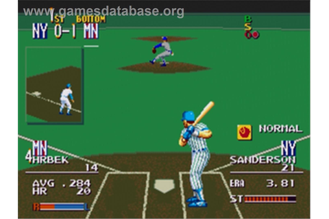 Sports Talk Baseball - Sega Genesis - Games Database