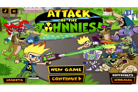 Cartoon Network Games: Johnny Test - Attack of The ...