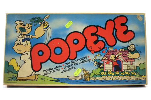 1983 Parker POPEYE ARCADE-BASED board game NEW & UNUSED ...
