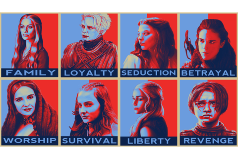 Cool Girls of Game of Thrones Pop Art Wallpaper by ...