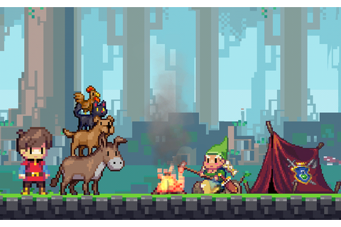 Adventures of Pip is an Evolving Pixel-Art Platformer with ...