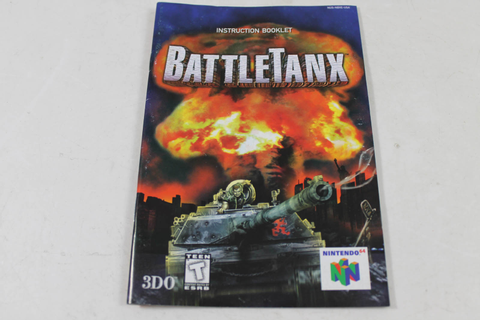Manual - Battletanx - Nintendo N64